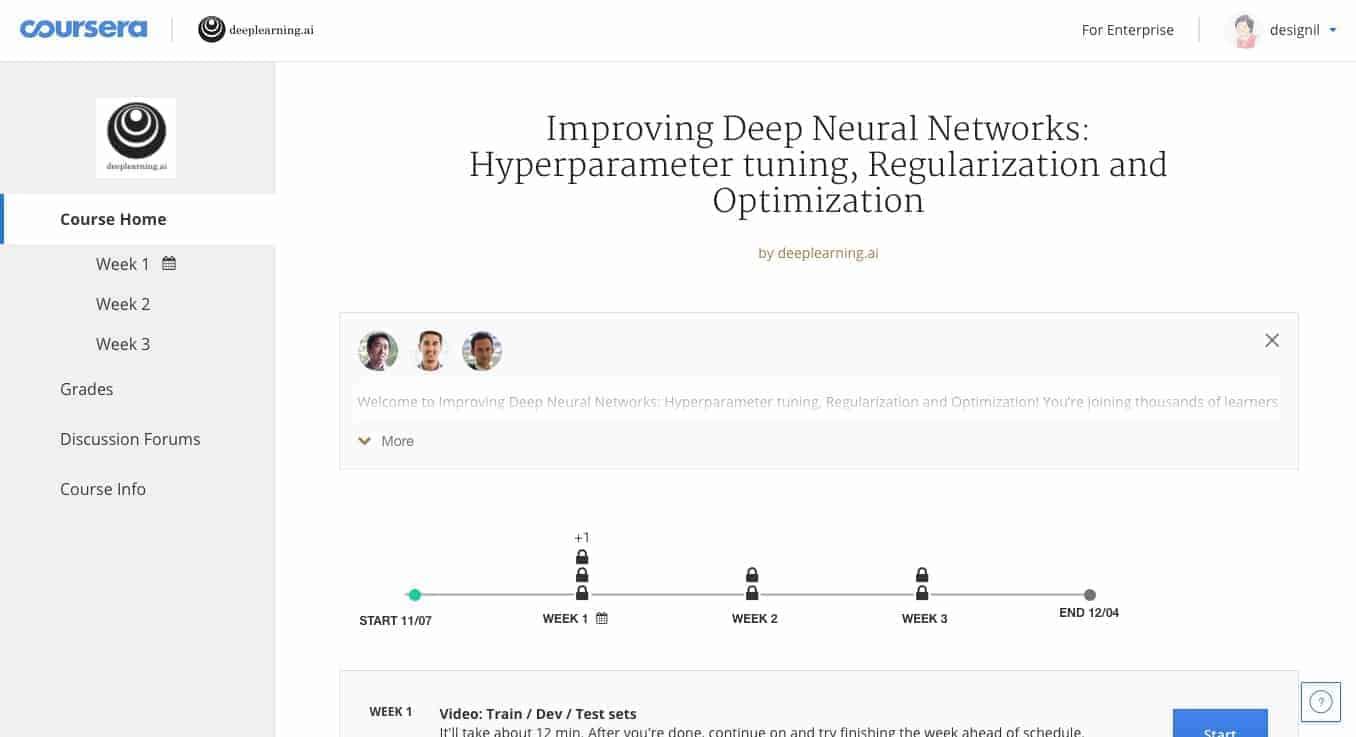 คอร์ส Deep Learning ฟรี สอนโดยมหาเทพ Andrew Ng พร้อมวิธีลงเรียนทุกขั้นตอน 7