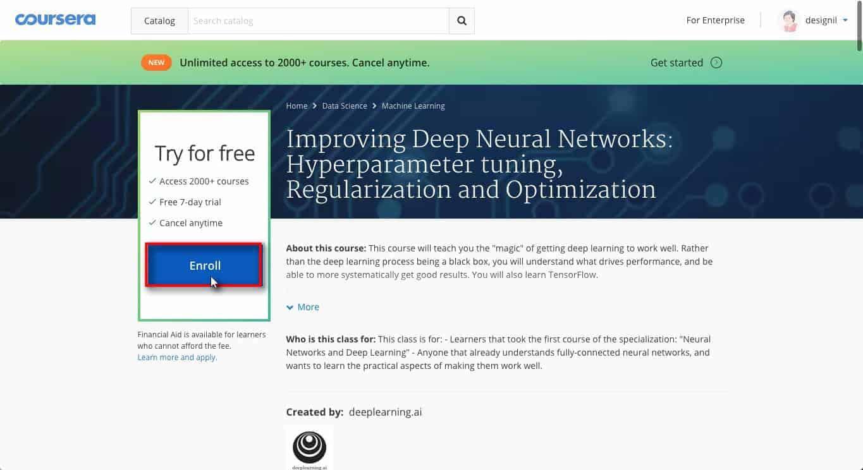 คอร์ส Deep Learning ฟรี สอนโดยมหาเทพ Andrew Ng พร้อมวิธีลงเรียนทุกขั้นตอน 5