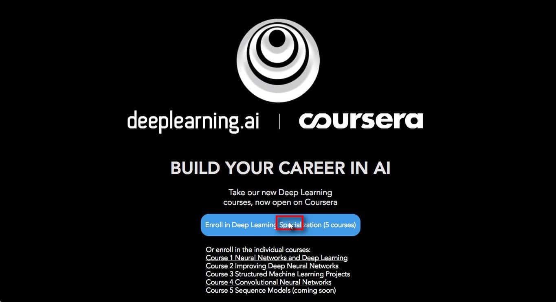 คอร์ส Deep Learning ฟรี สอนโดยมหาเทพ Andrew Ng พร้อมวิธีลงเรียนทุกขั้นตอน 1