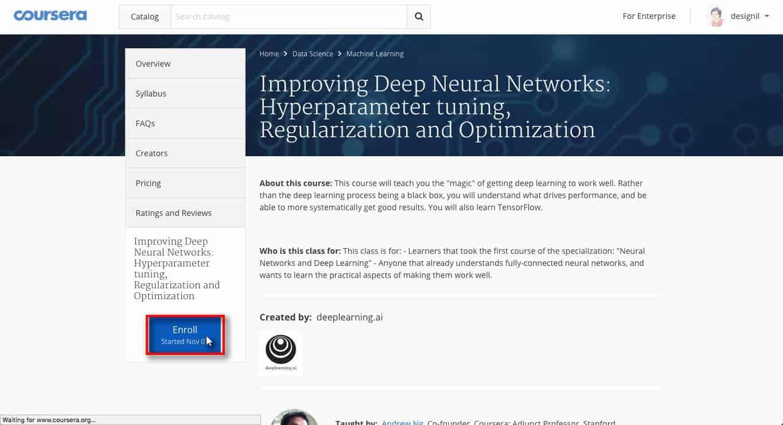 คอร์ส Deep Learning ฟรี สอนโดยมหาเทพ Andrew Ng พร้อมวิธีลงเรียนทุกขั้นตอน 4
