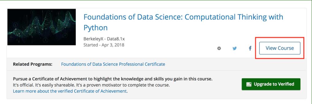 [ดี & ฟรี] คอร์ส Foundation of Data Science จากมหาวิทยาลัย Berkeley 5
