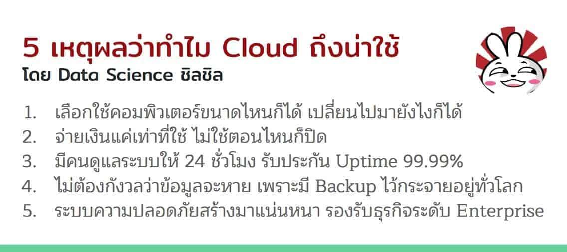 Cloud Computing คืออะไร ? ทำไมงาน Data Science / Machine Learning ควรต้องใช้ Cloud ? 2