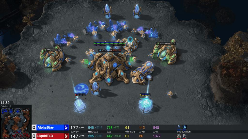 AlphaStar: AI สุดเทพที่เอาชนะเกมเมอร์ StarCraft II ระดับโลก 10 เกมรวด 2