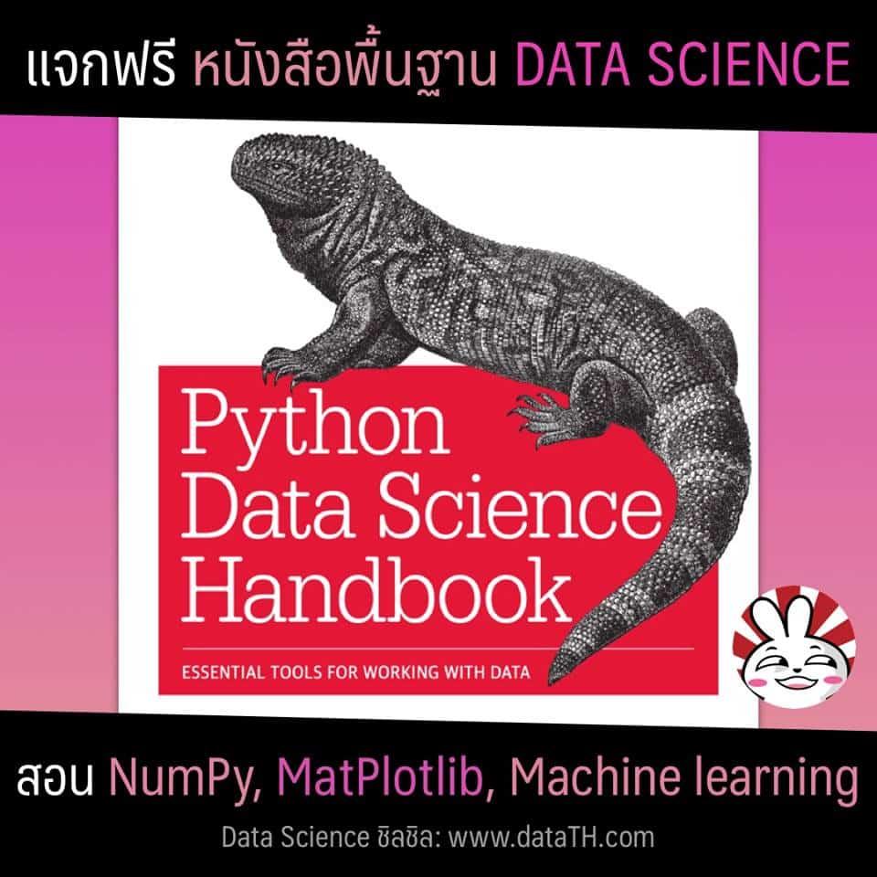 data science python handbook free