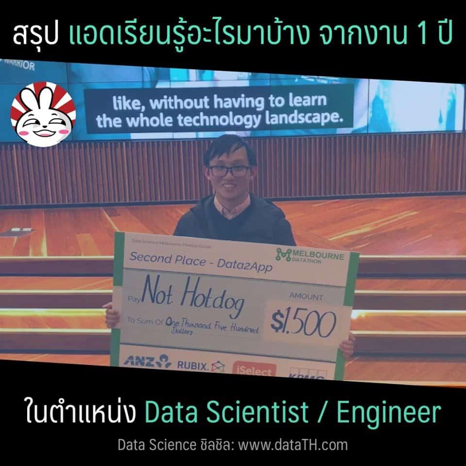 data science engineer experience