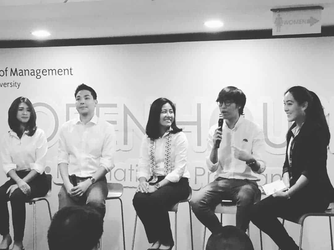 พูดปลุกใจนิสิตใหม่ที่ College of Management Mahidol University