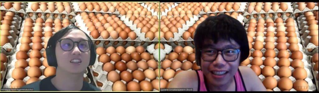 egg seller data scientist thailand