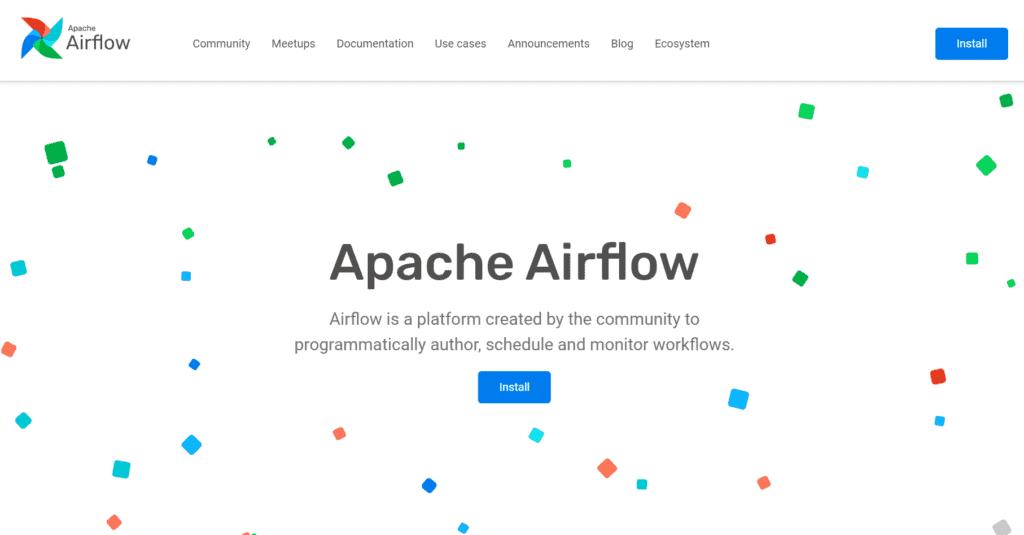 apache airflow big data engineering